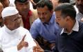 Arvind Kejriwal with Anna Hazare News