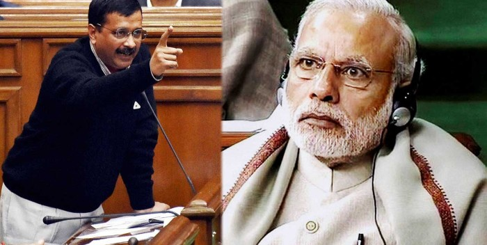 Kejriwal dares PM Modi to arrest Sonia Gandhi in AgustaWestland chopper row